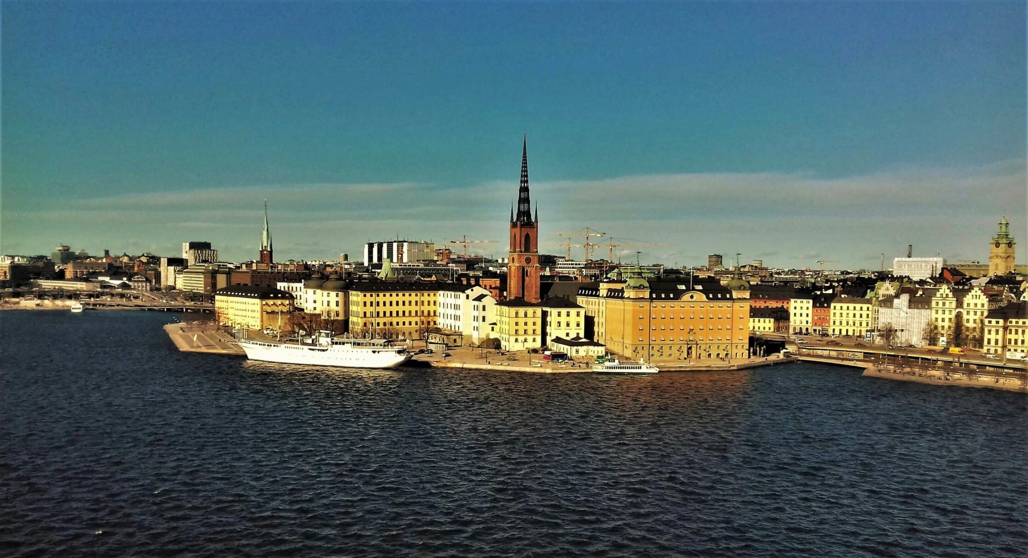 Panorama on the central Stockholm island