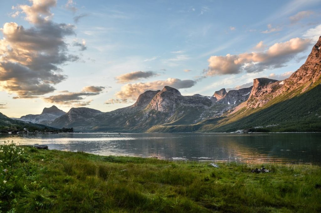 View of the Norwegian Mountains