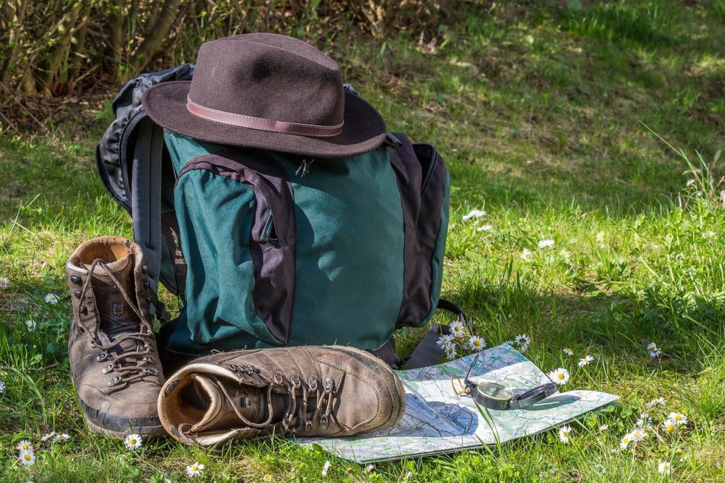 How to pack a Backpack for hiking