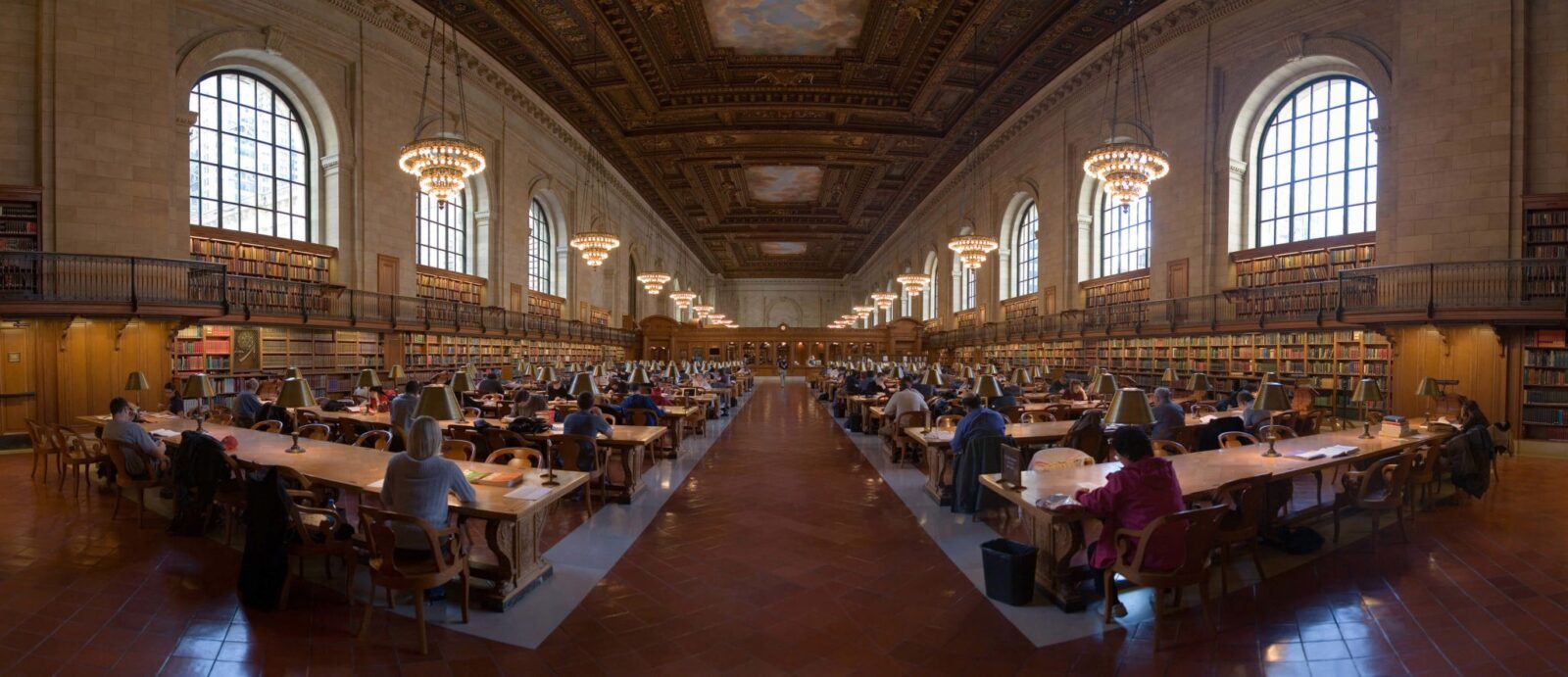 NYC public library inside