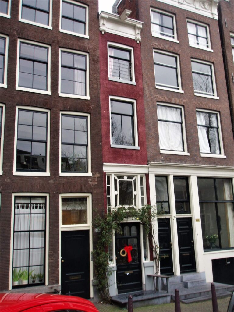 World's narrowest house in Amsterdam