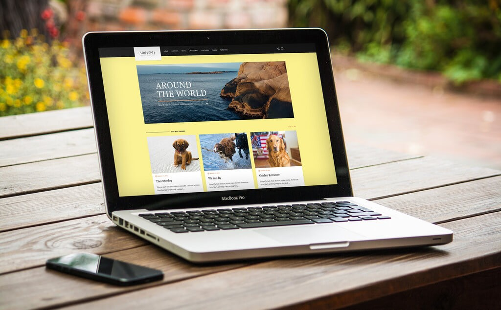 How to create a Travel blog on wordpress on laptop