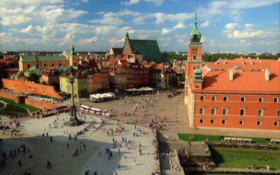 Castle square old town, what to do and see in Warsaw in 1 day