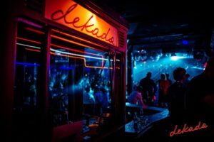 Decada nightclub full in Warsaw