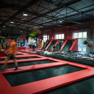 Hangar 646 jump arena in Warsaw, activity