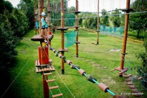Rope Park Bielany in Warsaw, activity