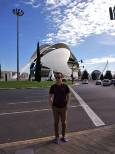Valencia and me, city of arts and sciences