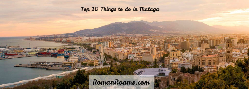 Sea coast on the sunset, best things to do in Malaga