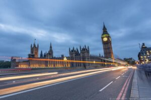 London night view, top places in England and Europe to visit in winter