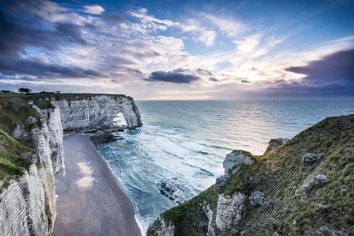 Normandy Cliffs, France