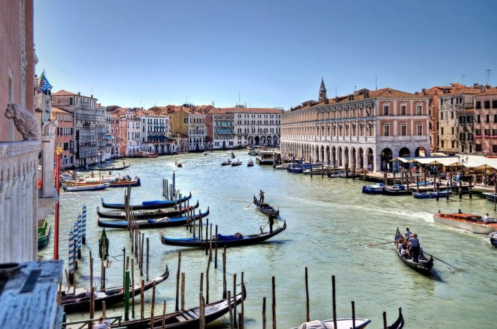 Venice, Italy, best countries for motorcycling