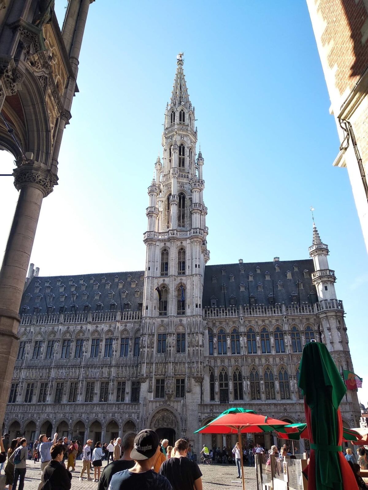 Main square in Brussels, adventurous trip to Belgium and Holland