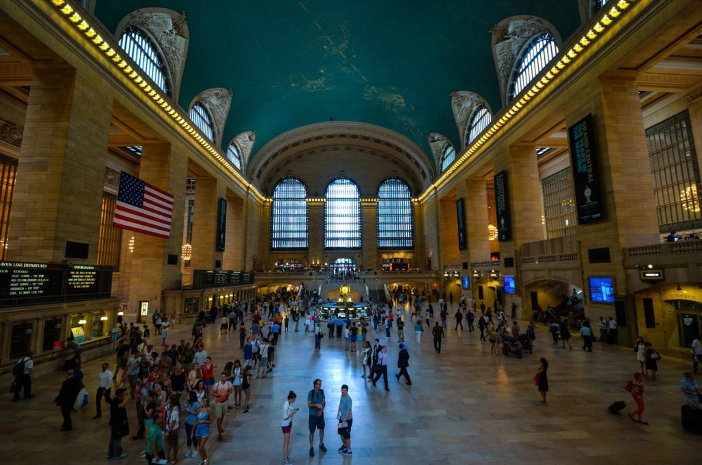 Grand central terminal in NYC, places to visit