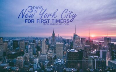 NYC in three days for first timers