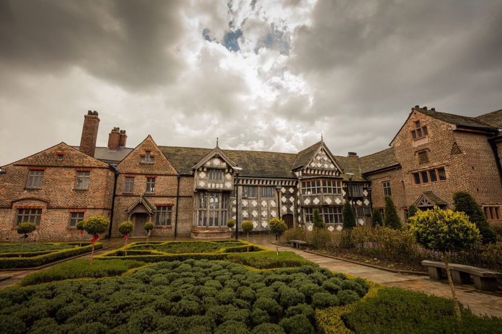 Ordsall hall in Greater Manchester, England
