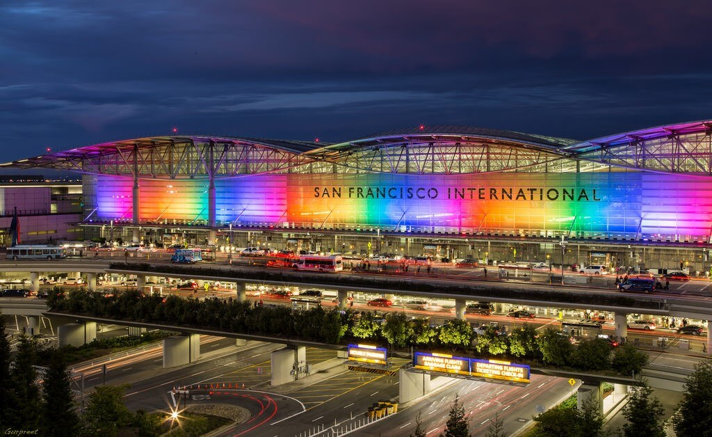 San Francisco International, best airports to relax and find a self-balance