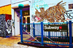 Graffiti, unusual places to visit in NYC in 2 days