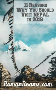 11 reasons to visit Nepal in 2019, flags in the mountains