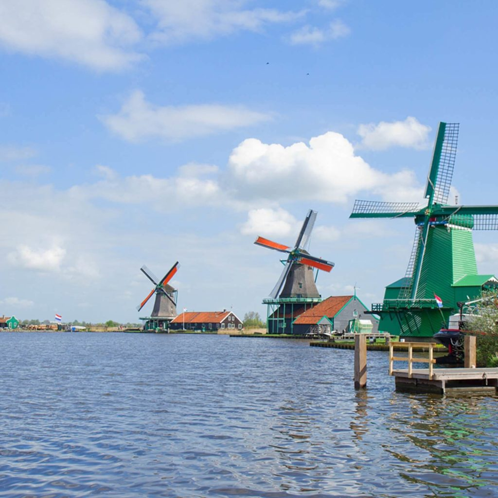 Windmills, best things to do in Amsterdam with kids
