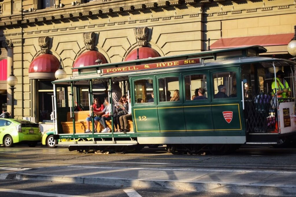 San Fran historic cable car things to do in 3 days