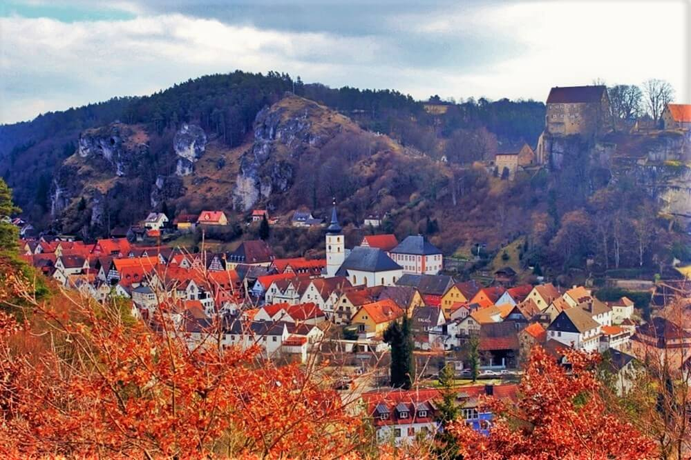 Franconian village in Germany, best places in Europe for first timers