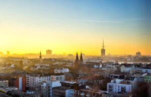 great panoramic view of Hamburg sunset in a 3-day guide
