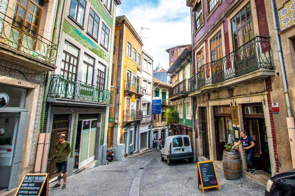 Porto street, cultural experience in Europe for first timers