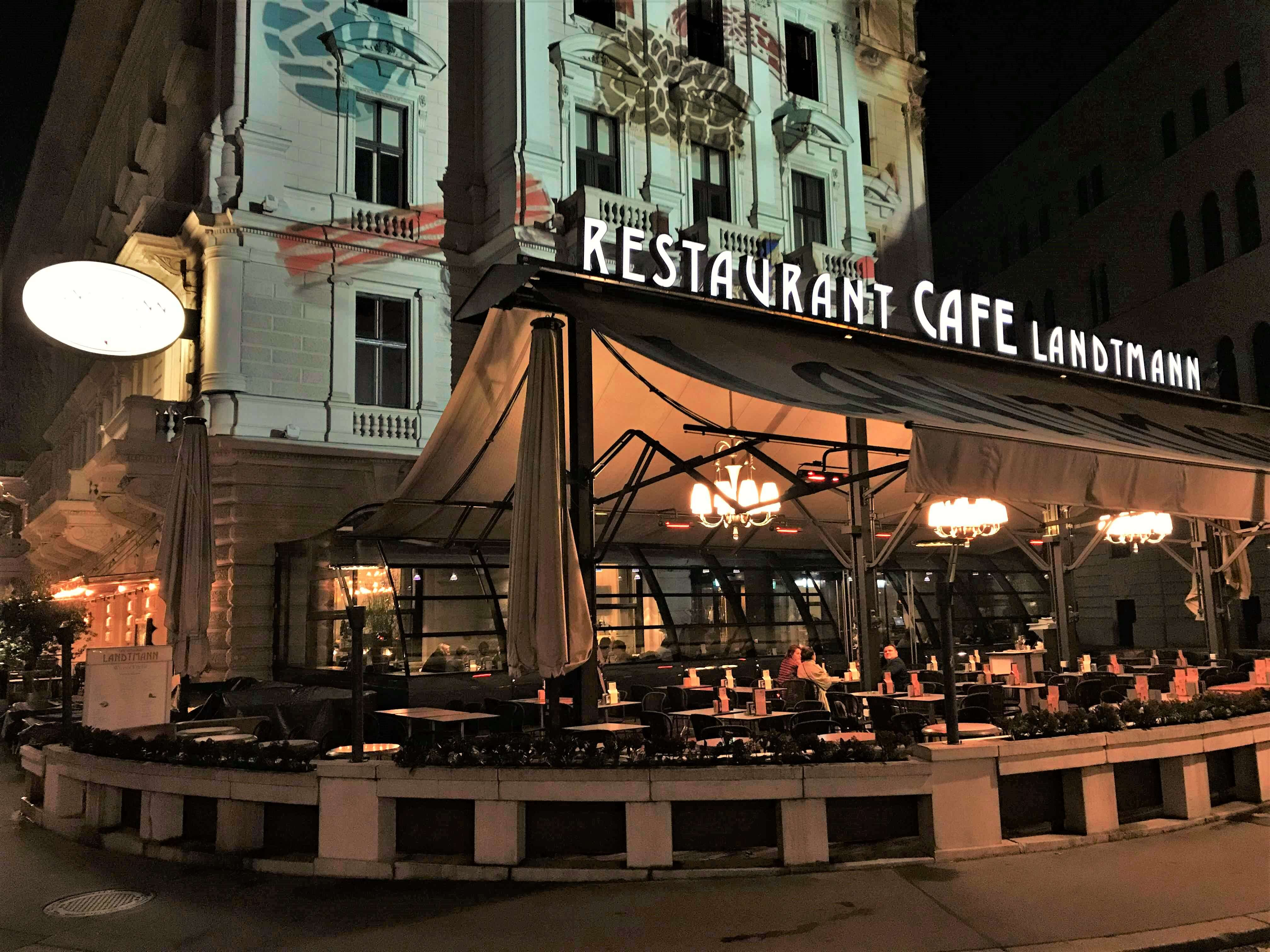 Landtmann restaurant and cafe in Vienna
