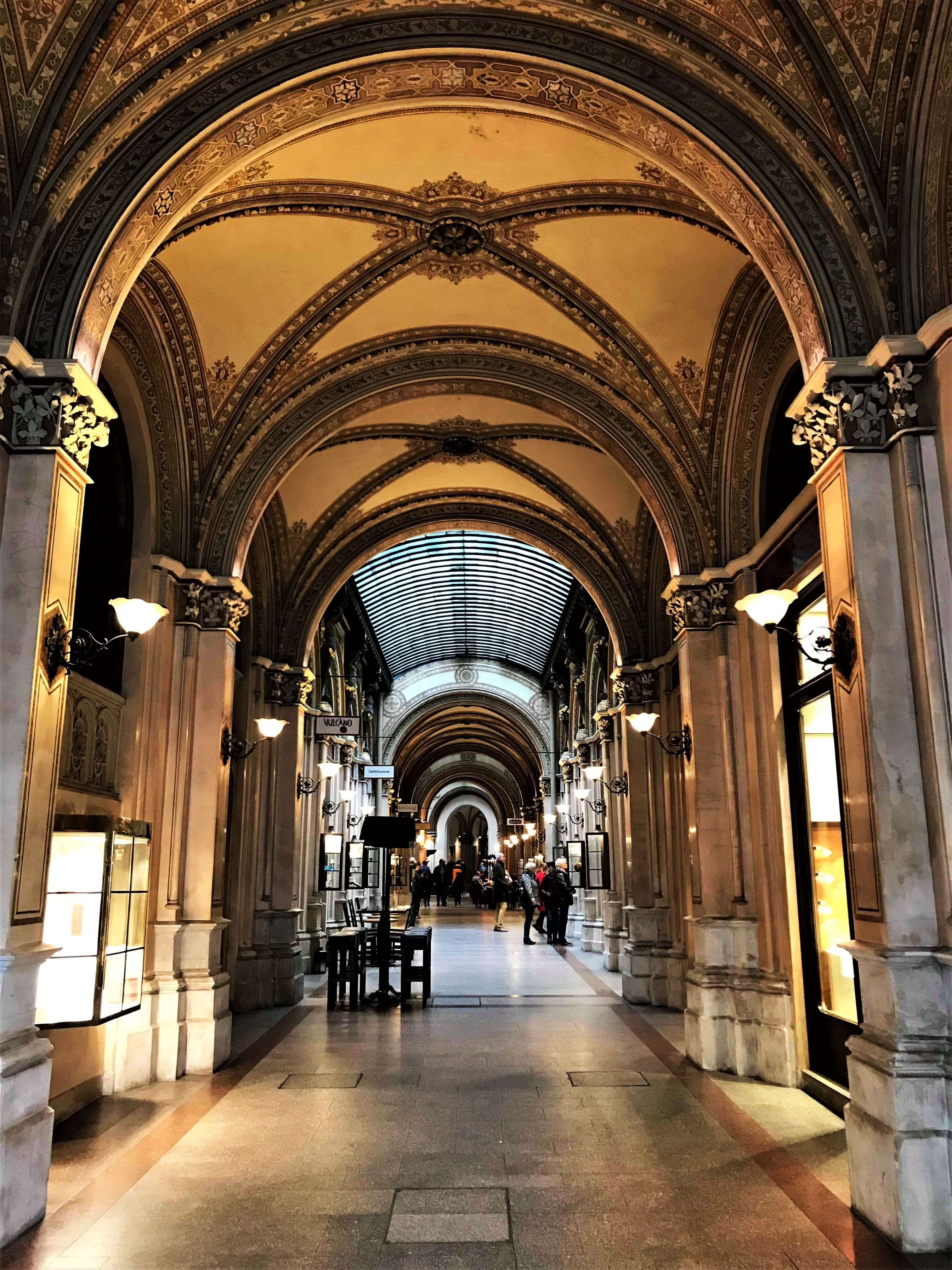 Vienna gallery passage, best places to visit in 2 days