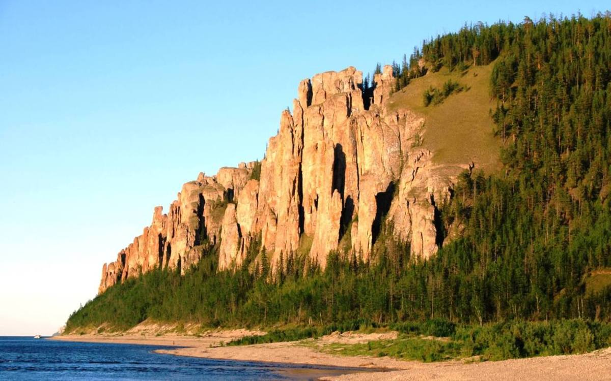 Lena Pillars, Yakutia natural attractions
