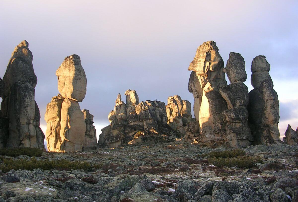 Sacred Kysilyah Mountain in Yakutia