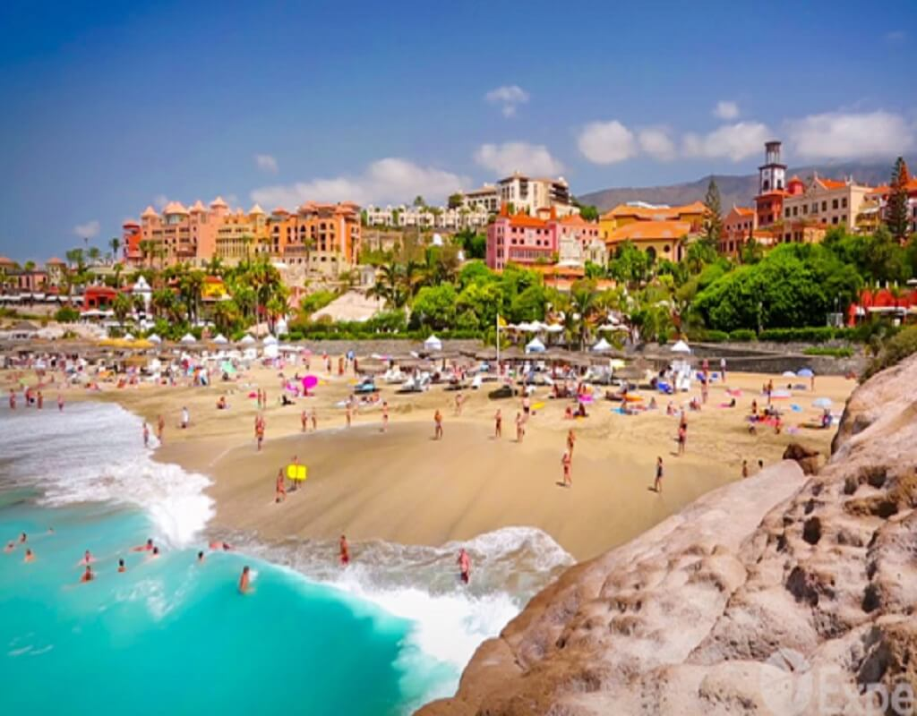 Beach in tenerife, best attractions
