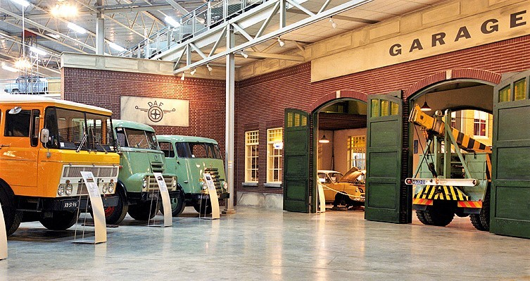 Daf trucks museum in Eindhoven, attractions of the city