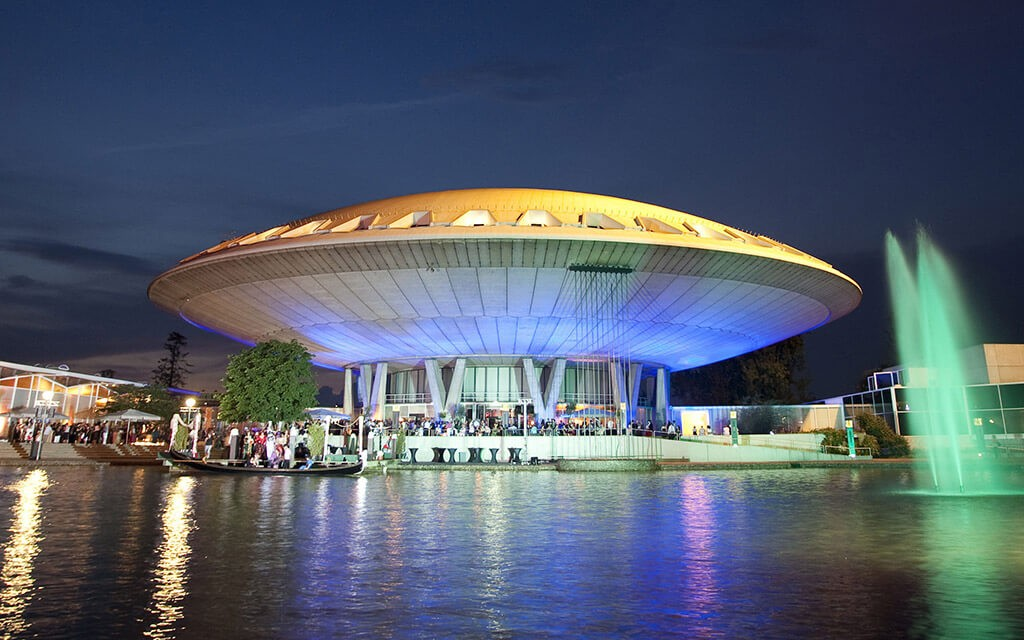 evoluon conference center in Eindhoven