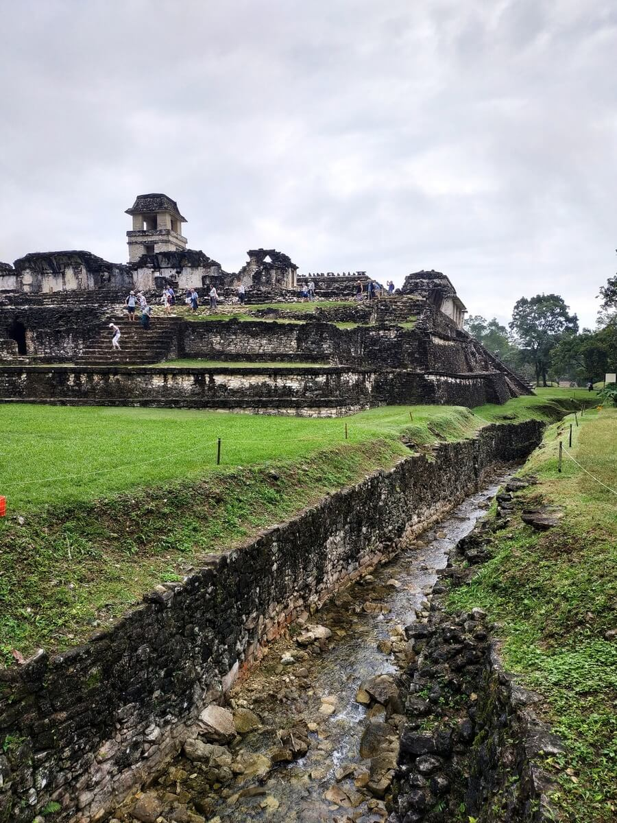 Palenque ruins, mexican adventure