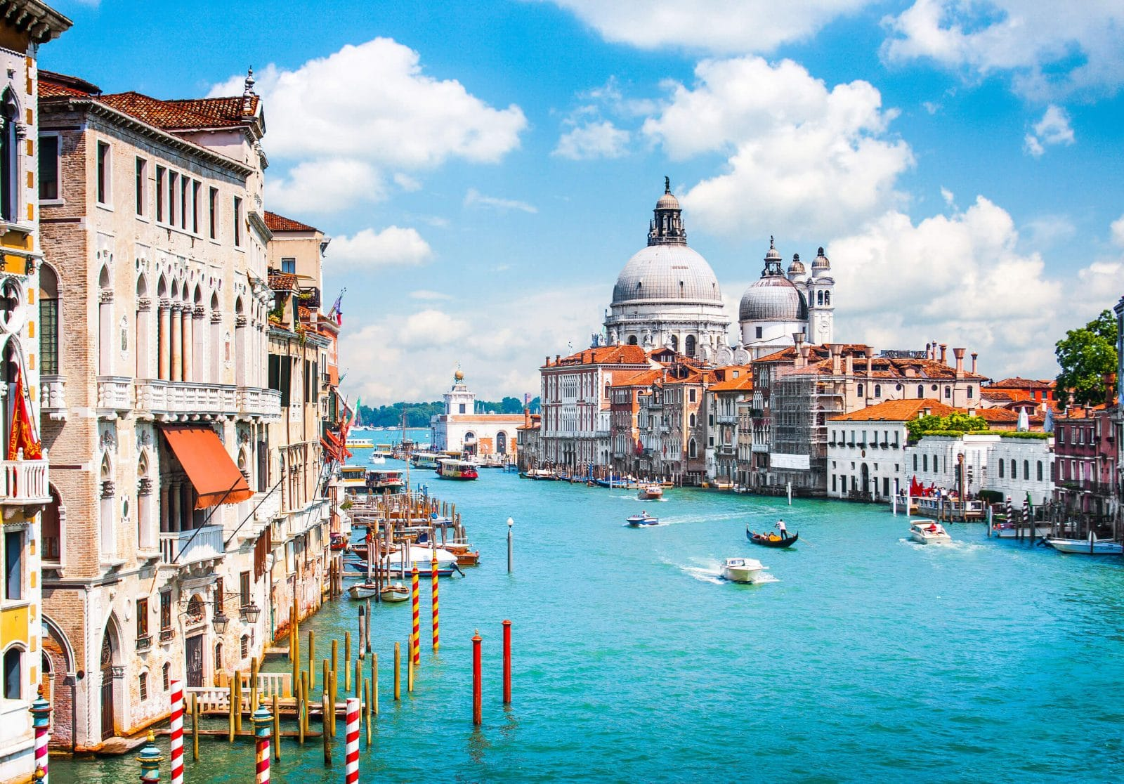 Venice grand canal panorama, 3 days itinerary
