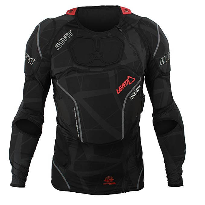 Cruiser bike body armor