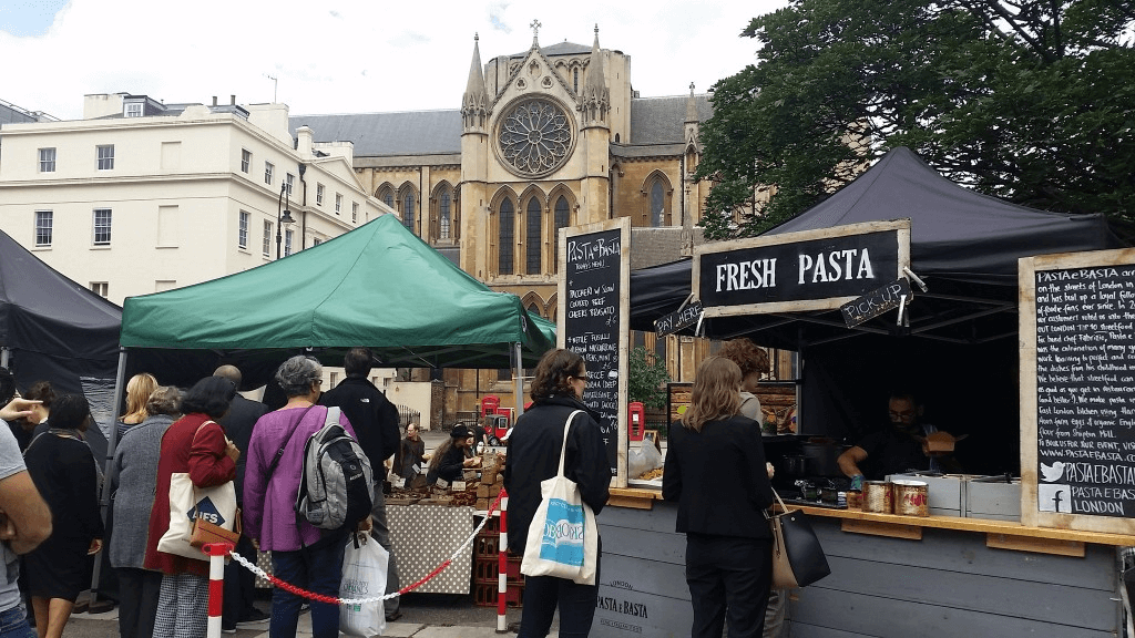 Eating low cost in London, budget street food