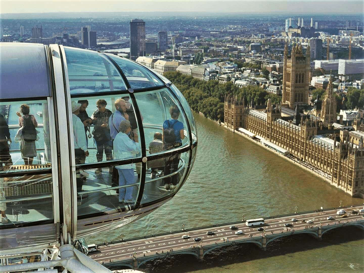 London Eye View, budget travel guide