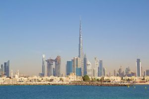 Dubai panoramic view of the city, things to do in Dubai in 2 day itinerary