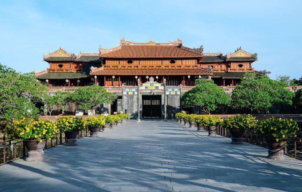 Palace in Hue, Vietnam attractions