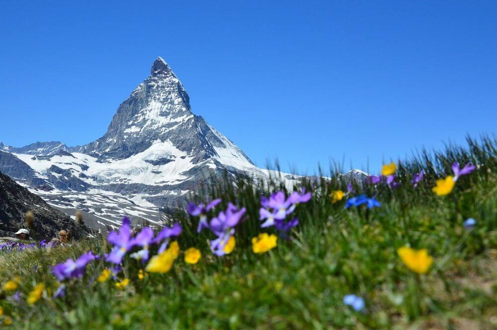 Matterhorn mountain in Switzerland