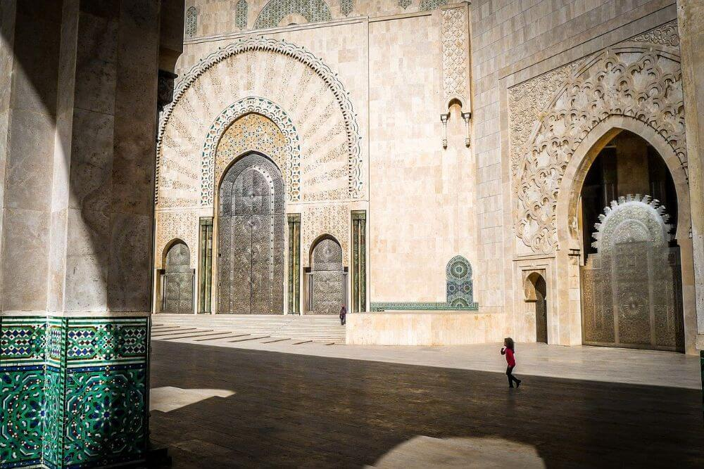 Mosque Hassan, attractions in Morocco