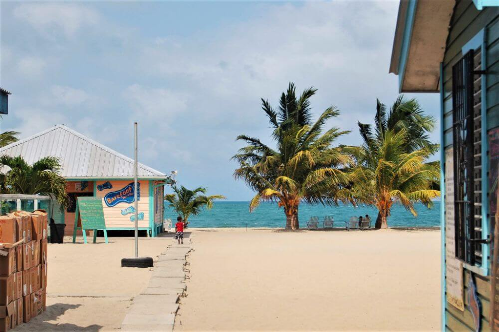 Placencia town, things to do in Belize on a budget