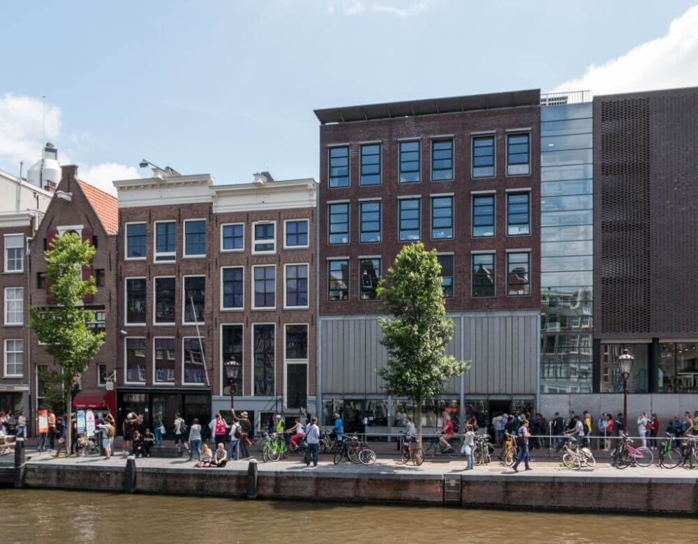 Anne Frank house museum, Amsterdam attractions itinerary