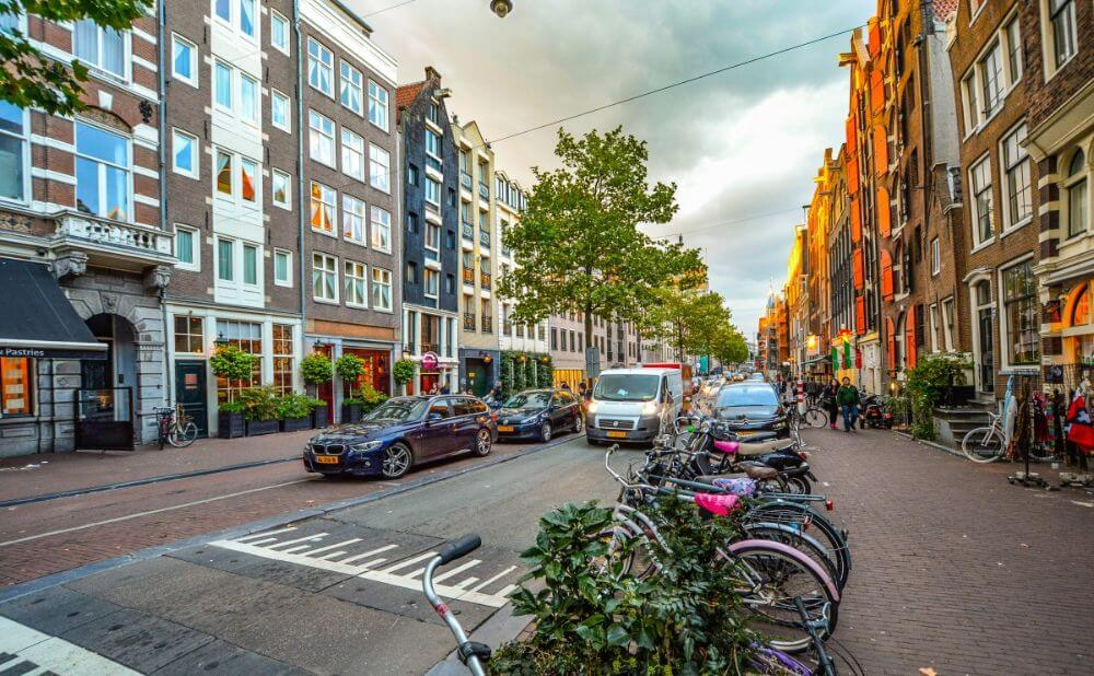 Amsterdam residential area, places to stay for a weekend