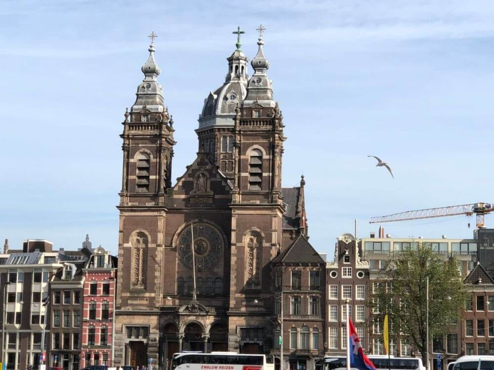 Oude Kerk, Old Church in Amsterdam, attractions in 3 days