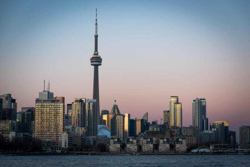 Toronto weekend itinerary, landscape of the city sights