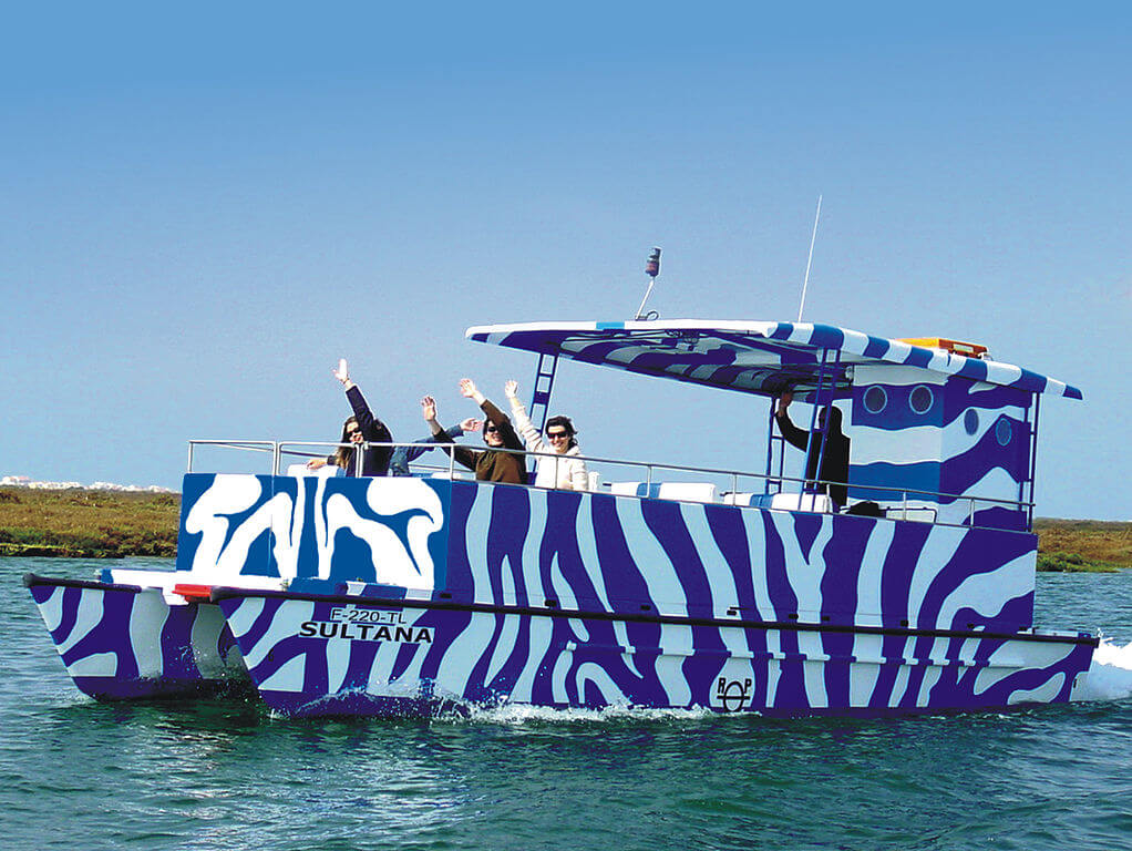 Faro boat, Algarve tours and itinerary for a weekend