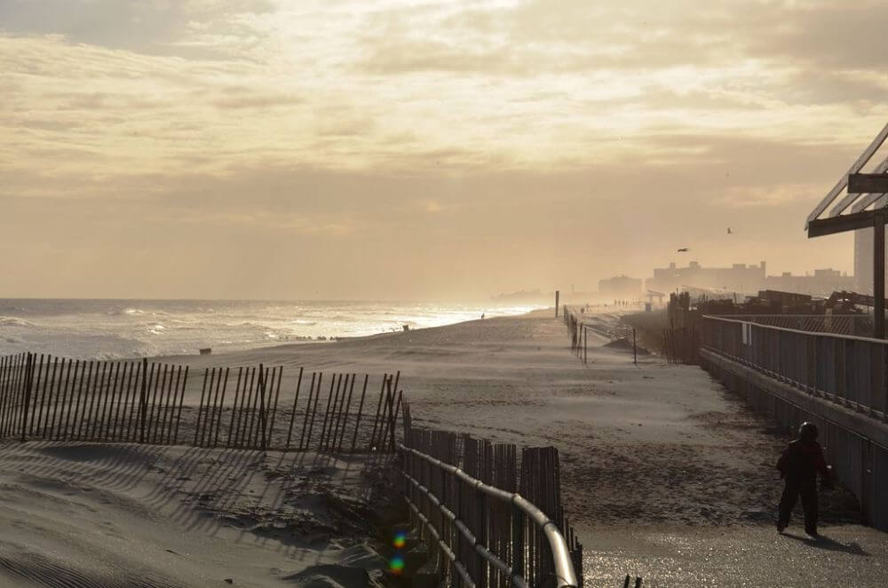Rockaway beach in Queens, things to do in New York City for students